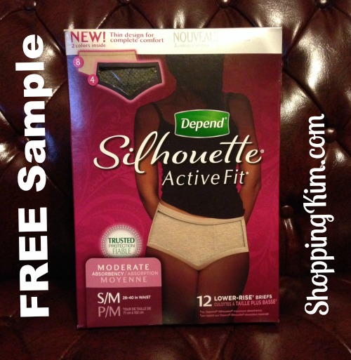 Free Sample Depend Silhouette Active Fit Briefs