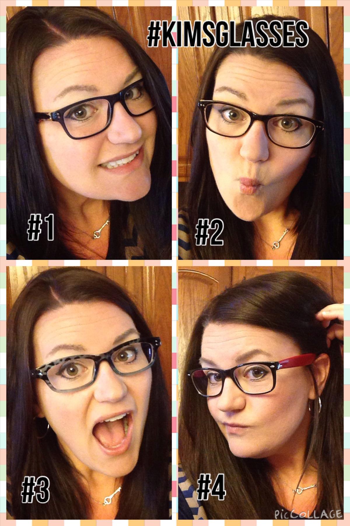 Which Wayfarer Glasses Look Best On Kim? Vote For #KimsGlasses