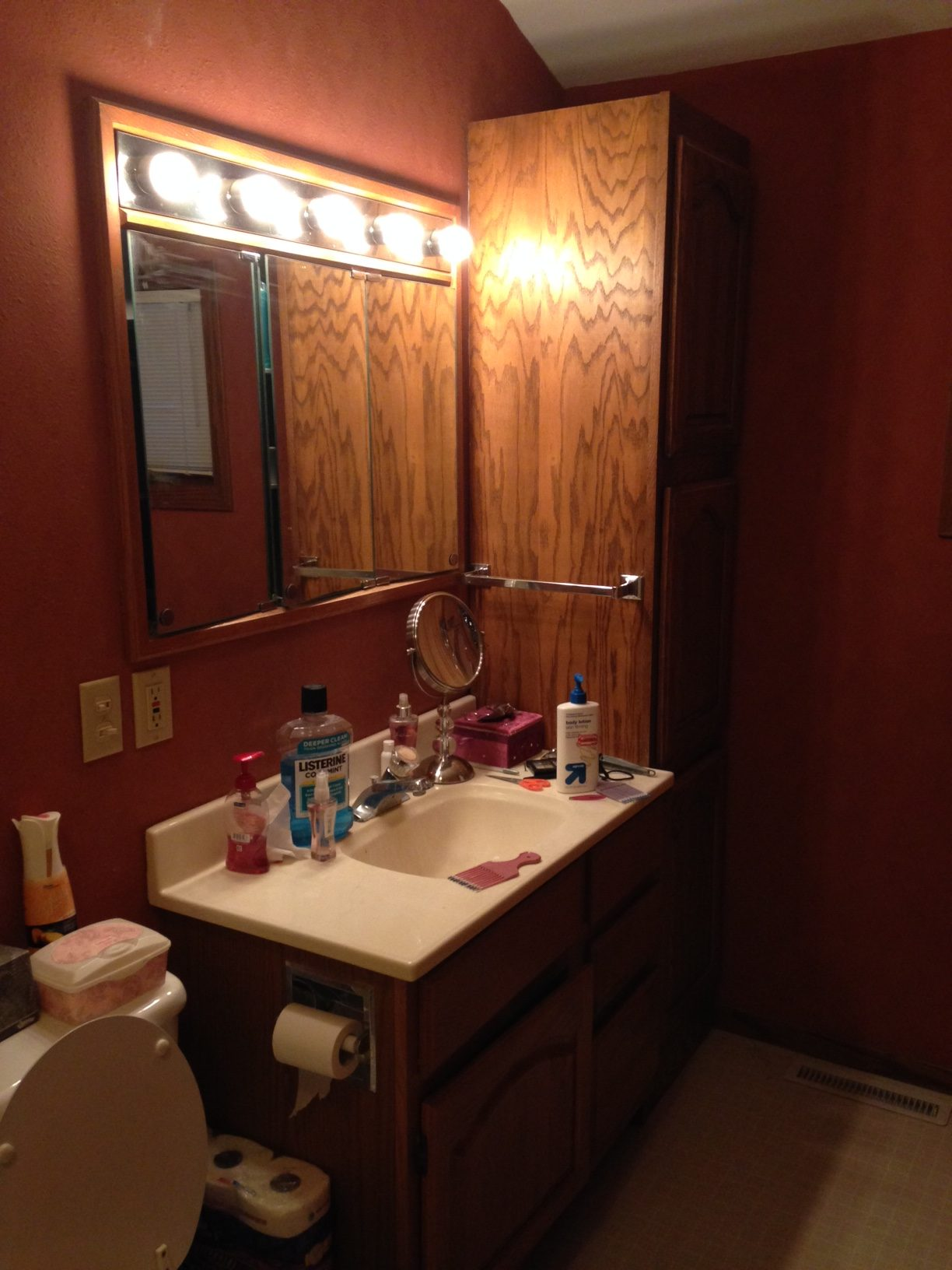 Master Bathroom Remodel - Before Pics