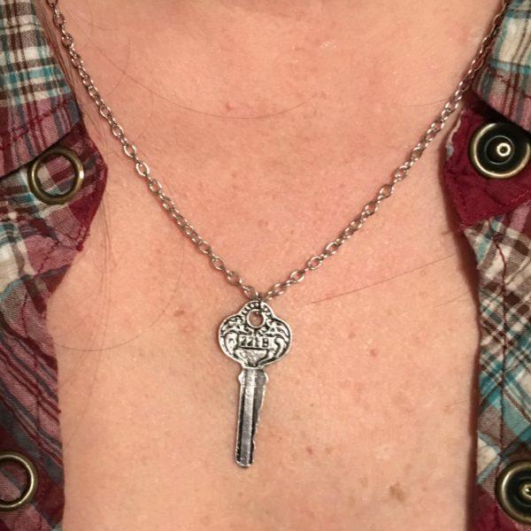 Kim's Key Necklace