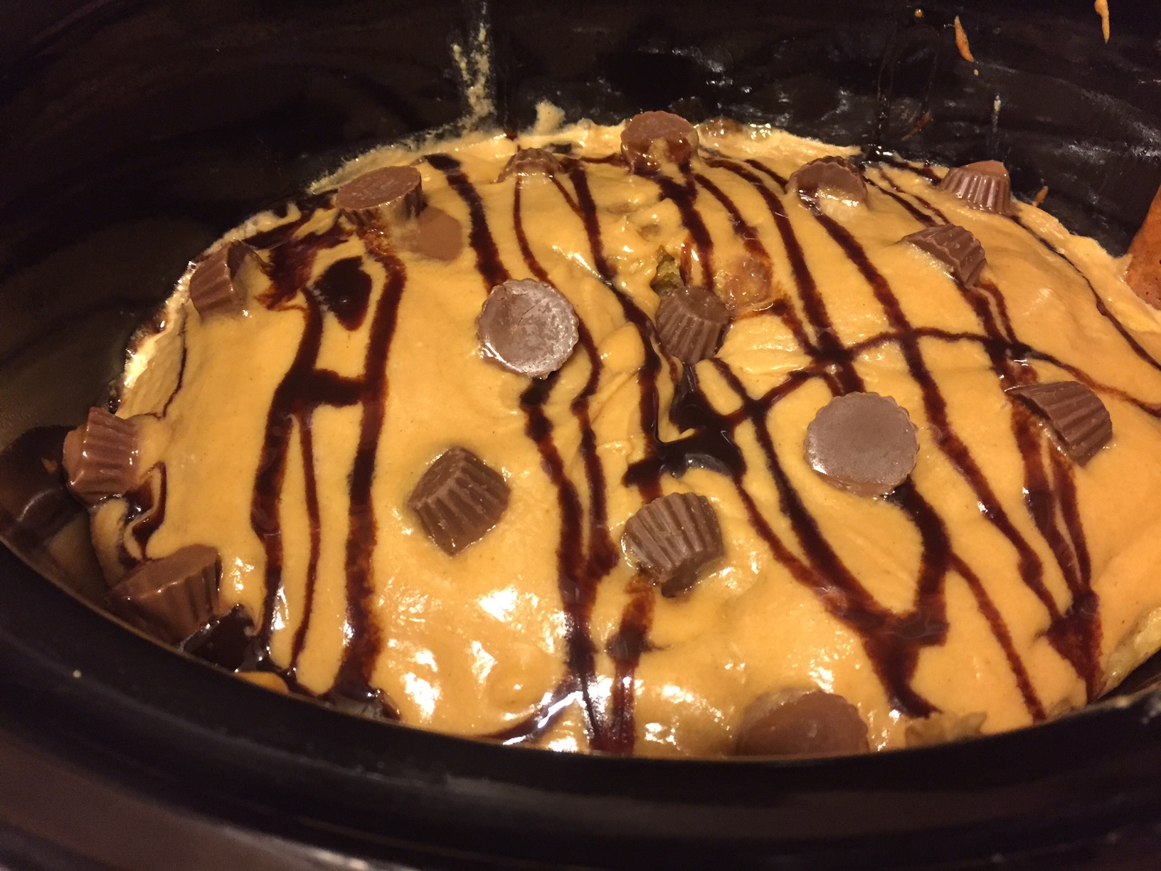 Peanut Butter Cake Crockpot Recipe