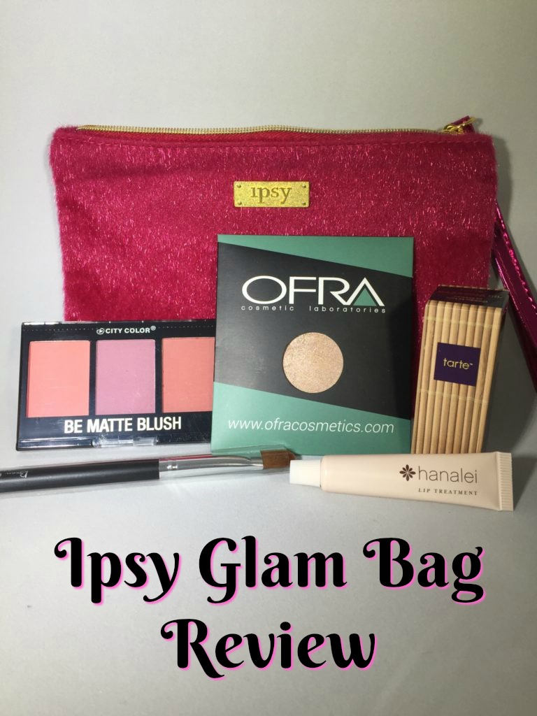 Ipsy December Glam Bag Review