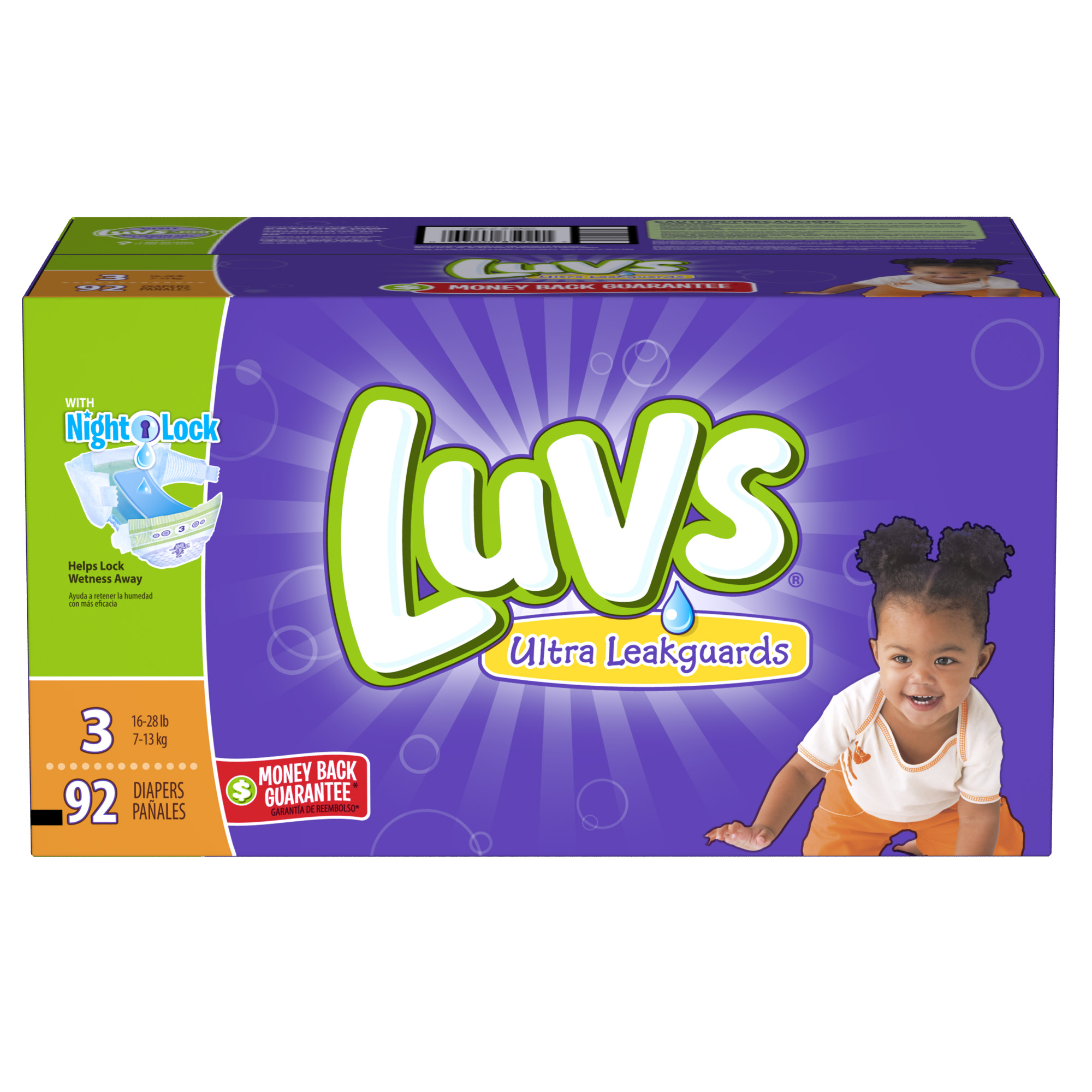 Luvs Diapers Triple Play: $2 Coupon + $5 Rebate + Money Back Guarantee #SharetheLuv #ad