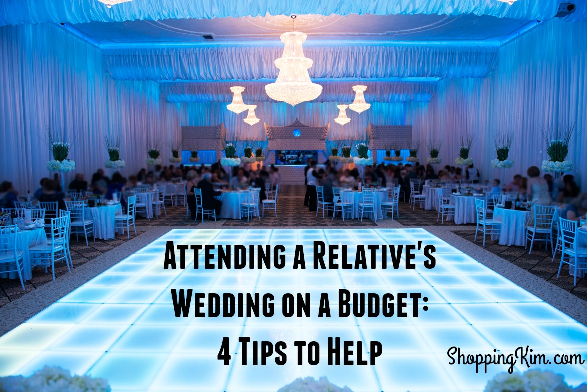 Attending a Relative's Wedding on a Budget: 4 Tips to Help