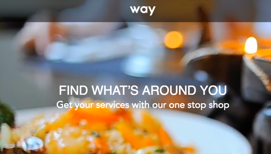New App To Find What's Around You: Way