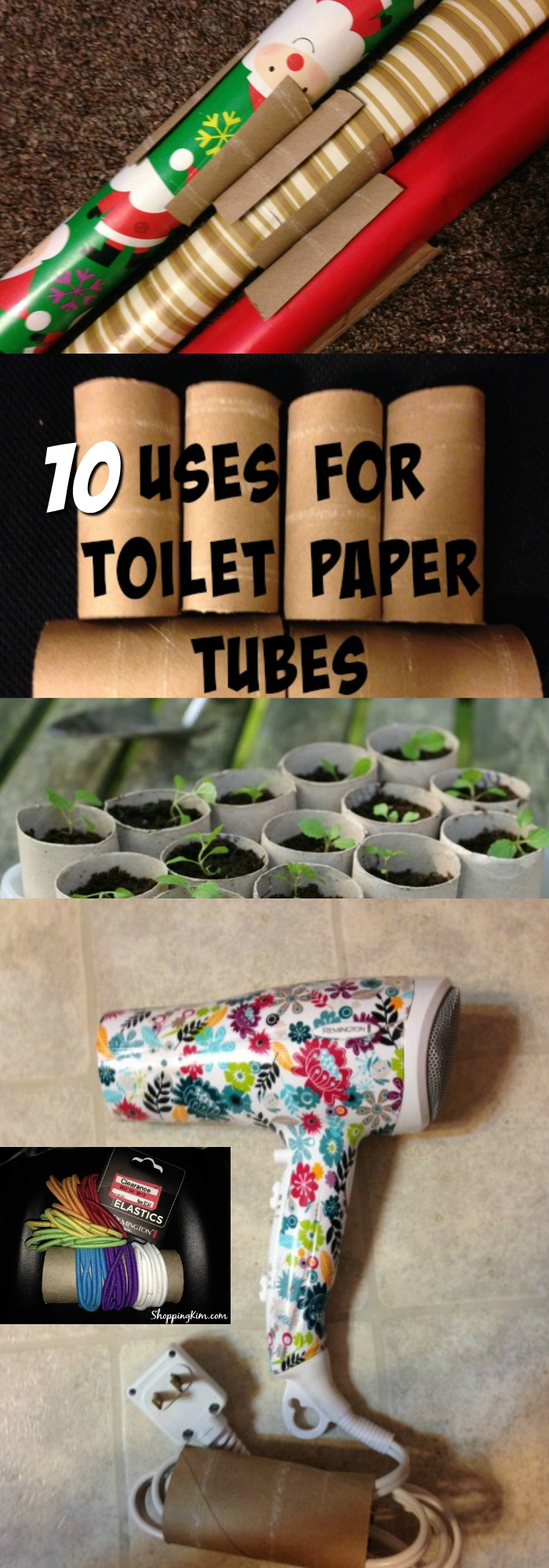 Ten Uses For Toilet Paper Tubes