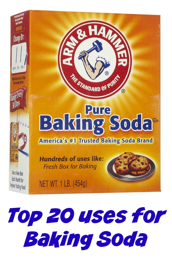 Top 20 Uses for Baking Soda