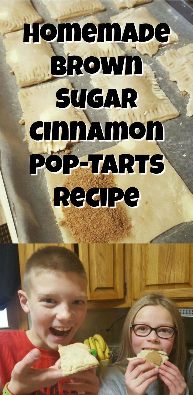Homemade Brown Sugar Cinnamon Pop-Tarts Recipe