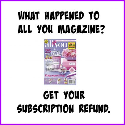 What Happened to ALL You Magazine?