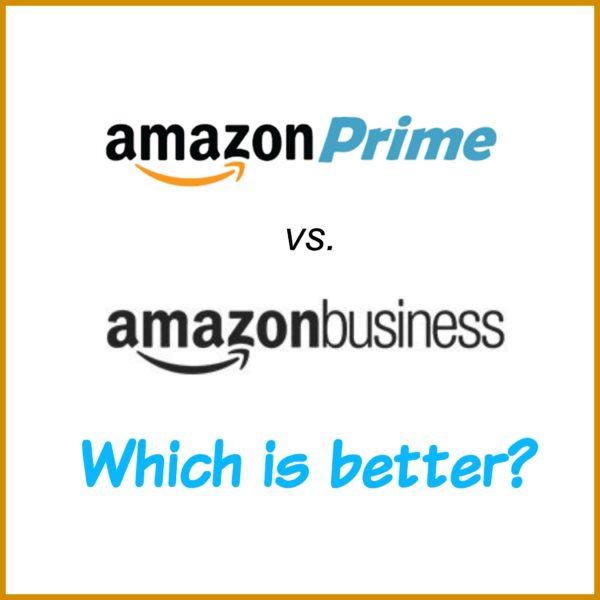 Amazon Prime vs Amazon Business?