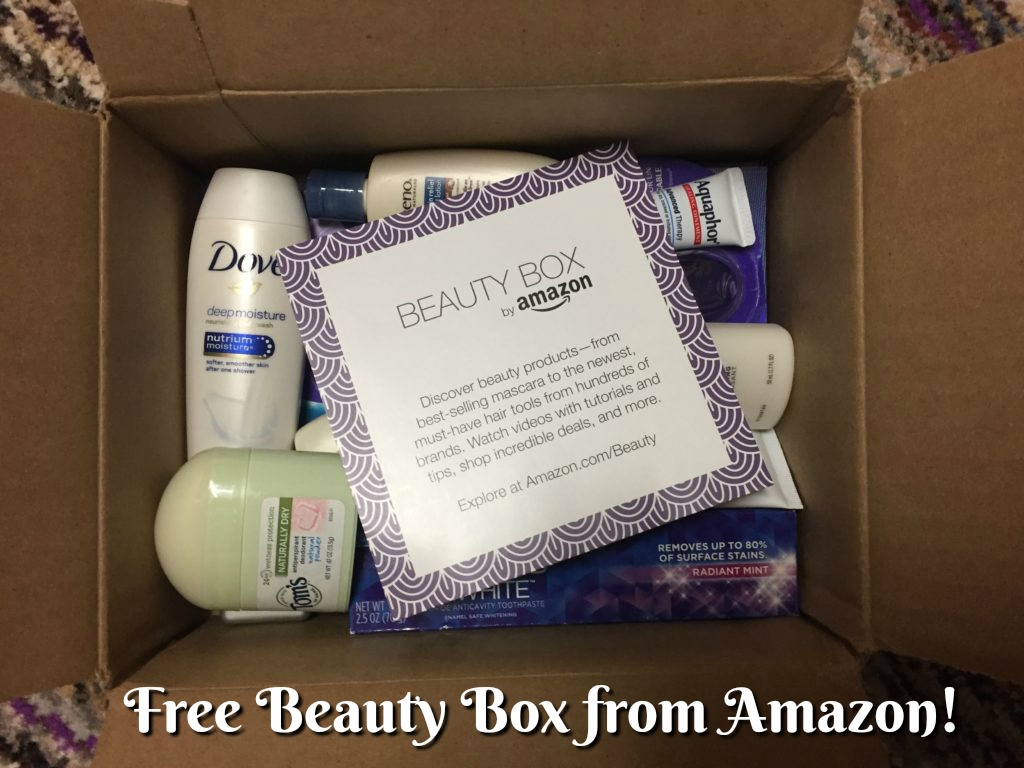 Free Beauty Box from Amazon!