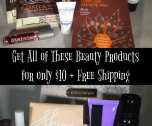 BirchBox Beauty Box Review: Get 12 Beauty Products for $10 + Free Shipping
