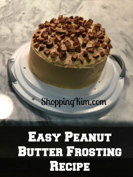 Easy Peanut Butter Frosting for Cake Photo