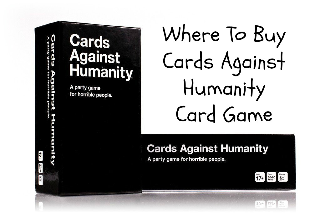where you can buy the cards against humanity card shopping