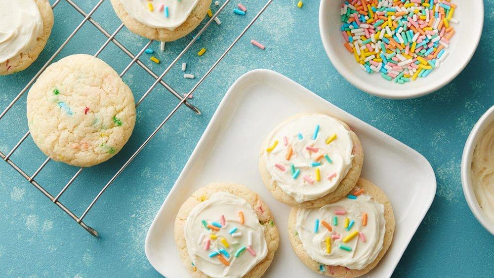 Easy Amp Delicious Recipe Funfetti Cake Mix Cookies Recipe