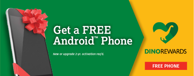 Free Android SmartPhone For Verizon Or Sprint Customers