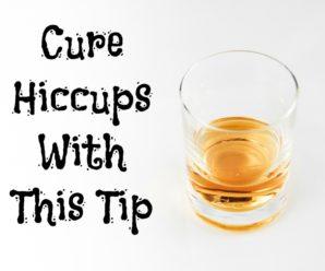Get Rid Of Hiccups With This Cure