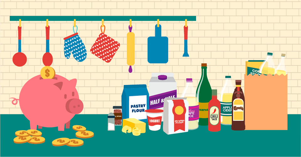 Ingredient Substitutions To Save You Money