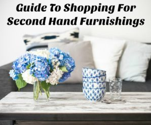 Guide To Shopping For Second Hand Furnishings