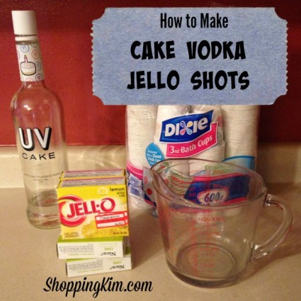 Fabulous How To Make Cake Vodka Jell O Shots Shopping Kim Birthday Cards Printable Trancafe Filternl