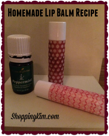 Homemade Chapstick Recipe
