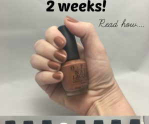 My Fingernails Take 5 Minutes And Last 2 Weeks. Here's How.