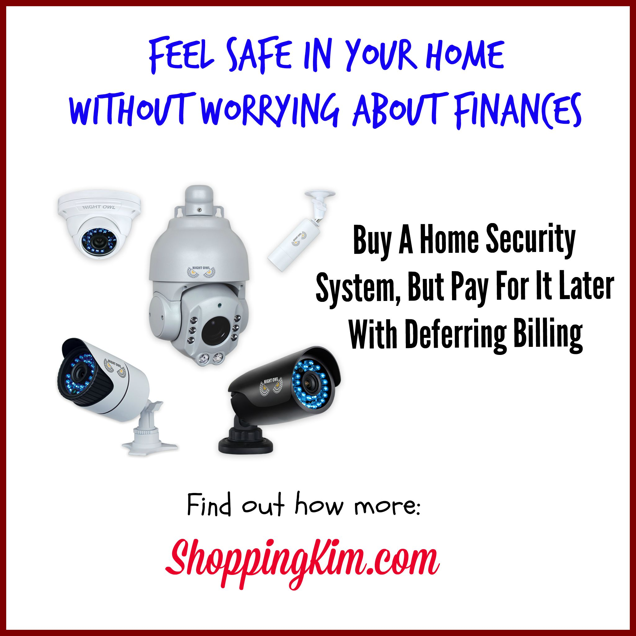 Buy home security system now pay later shopping kim for Buy house alarm system