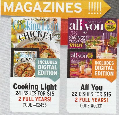 See all results for all you magazine. Get Ready for Halloween!, Walk Off the Weight Fast, Inside $ Worth of Valuable Coupons - September 20, All You Magazine