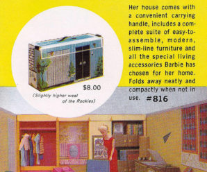 Vintage Find: 1962 Barbie Dream House